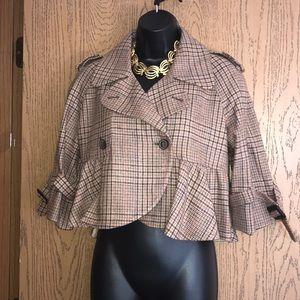 NWT Arden B crop jacket